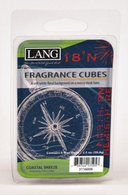 LANG Coastal Breeze 2.5 Oz Fragrance Cubes