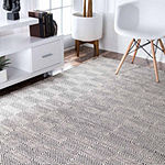 nuLoom Hand Woven Ago Rug