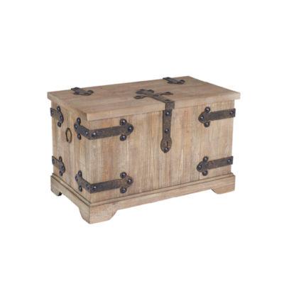 Household Essentials Small Victorian Storage Trunk