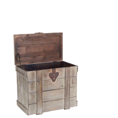 Household Essentials Small Wooden Home Chest