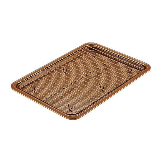 Ayesha Curry™ Copper 2-pc. Non-Stick Cookie Sheet Set