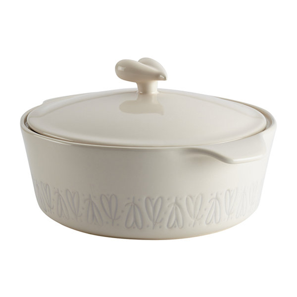 Ayesha Curry™ Home Collection Stoneware 2.5-qt. Round Casserole Dish