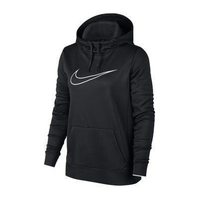 Nike Womens Long Sleeve Fleece Hoodie