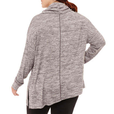 Xersion Long Sleeve Sweatshirt-Plus