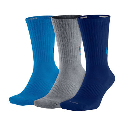 Nike® 3-pk. Mens Dri-FIT HBR Crew Socks - Extended Size