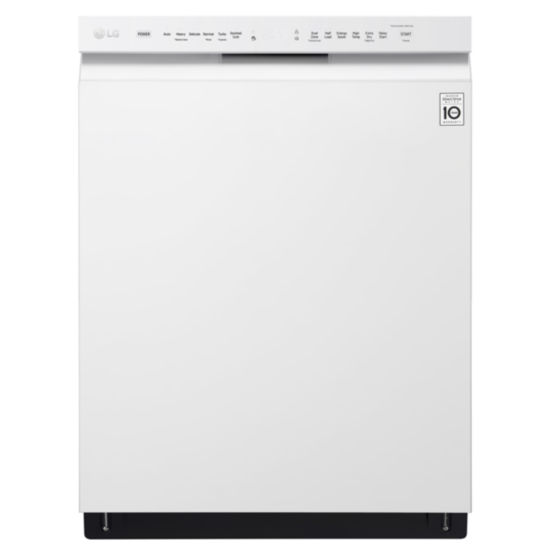 LG ENERGY STAR® Front-Control Dishwasher with Stainless Interior