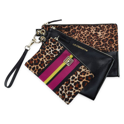 Liz Claiborne 3-pc. Makeup Bag Set