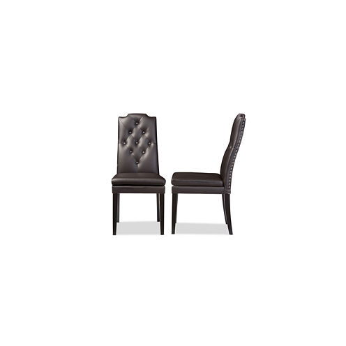 Baxton Studio Dylin 2-pc. Side Chair