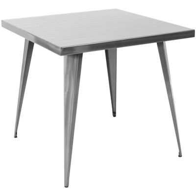 Austin Classic Industrial Square Dining Table