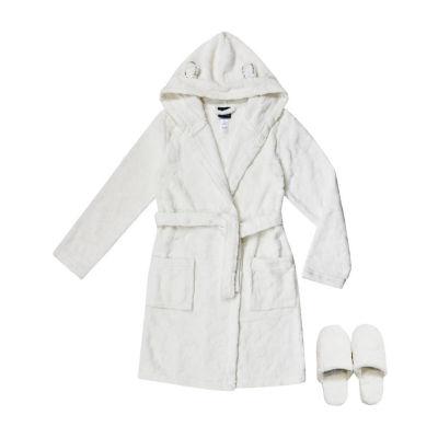 Jelli Fish Kids Embossed Robe with Slippers - Big Kid Girls 4-16