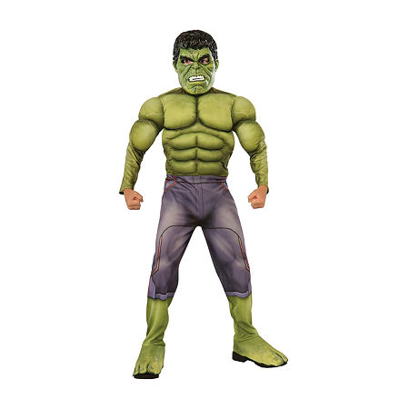 Thor: Ragnarok - Hulk Child Costume, Large , Multiple Colors