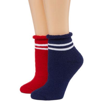 Mixit 2 Pair Quarter Socks - Womens