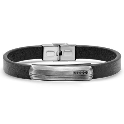 Minoxia Stainless Steel 8 Inch Id Bracelet