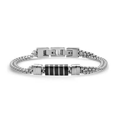 Minoxia Stainless Steel 8 1/2 Inch Link Link Bracelet