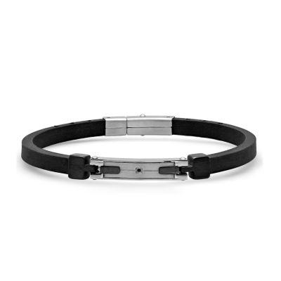 Minoxia Stainless Steel 8 1/2 Inch Link Bracelet