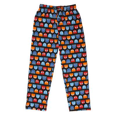 Nintendo Mens Jersey Pajama Pants Pacman