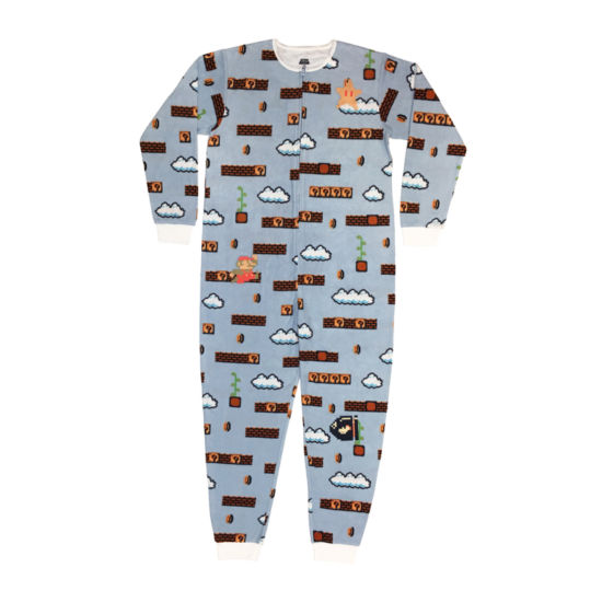 Nintendo Fleece One Piece Pajama