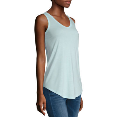 a.n.a Womens V Neck Sleeveless Tank Top