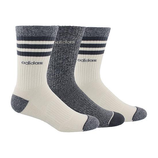 e345b6a27 adidas Climalite 3 Pair Crew Socks-Mens - JCPenney