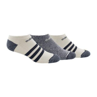 adidas Climalite 3 Pair No Show Socks-Mens