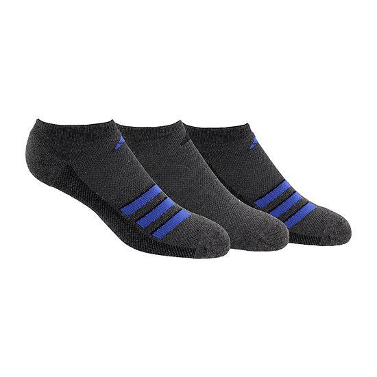 Adidas Climacool 3 Pair No Show Socks Mens