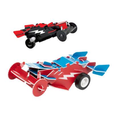 3D Puzzle Desk Racers