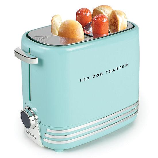 Nostalgia HDT900AQ 2-Slot Hot Dog Toaster