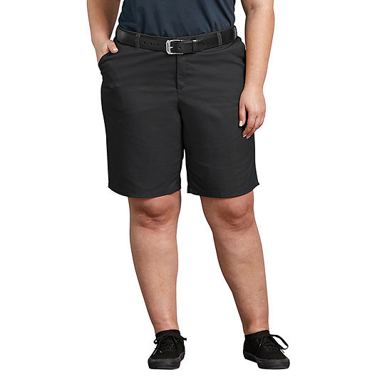 "Dickies Womens 10"" Bermuda Short-Plus"