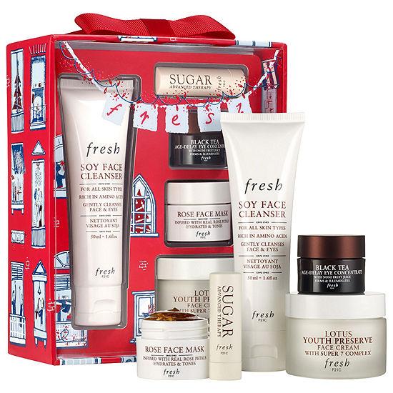 Fresh Evergreen Routine Gift Set ($100.00 value)