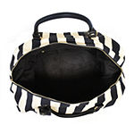 Imoshion Striped Weekender Tote Bag