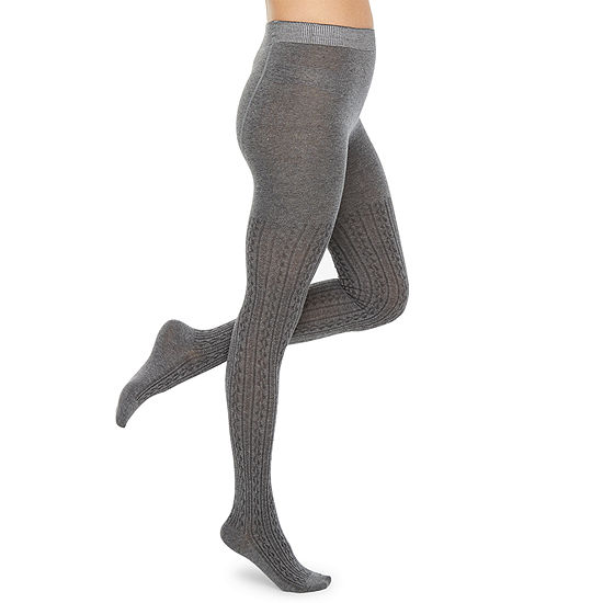 Mixit Cable Sweater Hosiery + Tights
