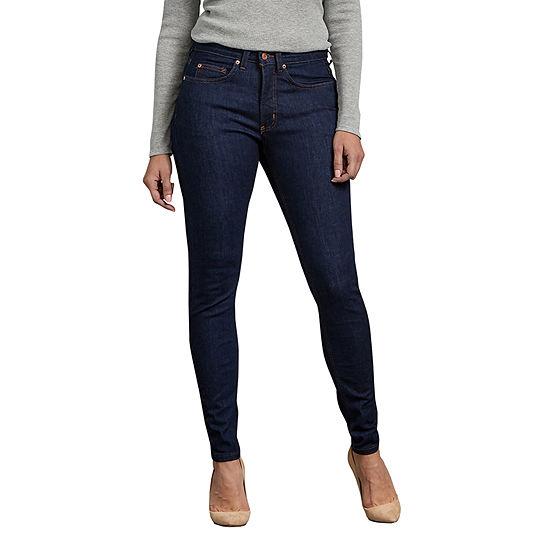 Dickies Perfect Shape Womens Mid Rise Skinny Fit Jean