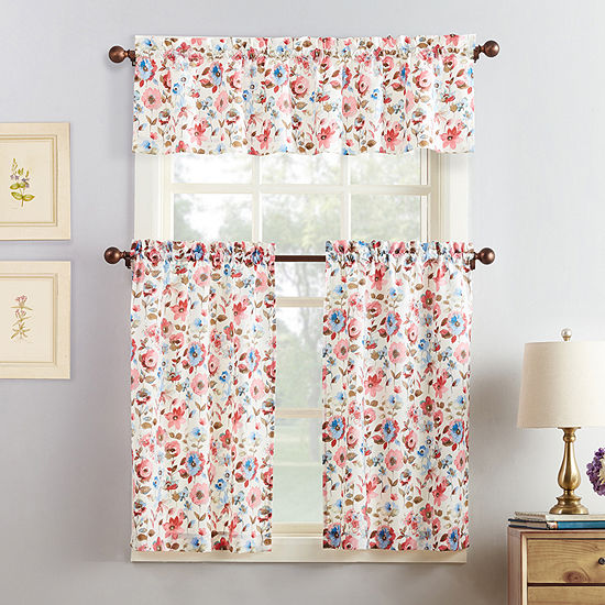 Mackintosh Dora 3-pc. Rod-Pocket Kitchen Curtain Set