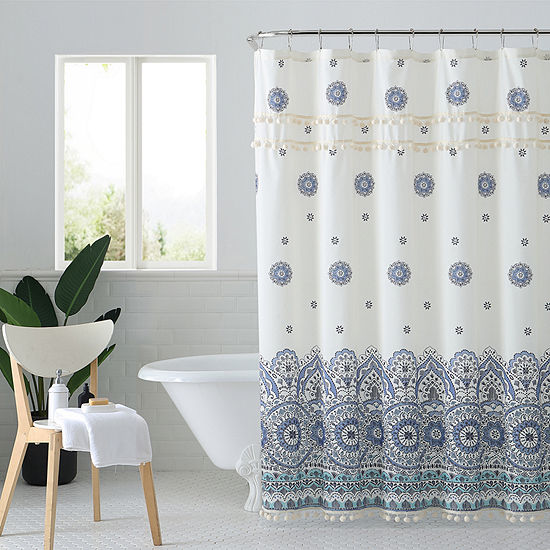 Peach And Oak  Miranda Shower Curtain