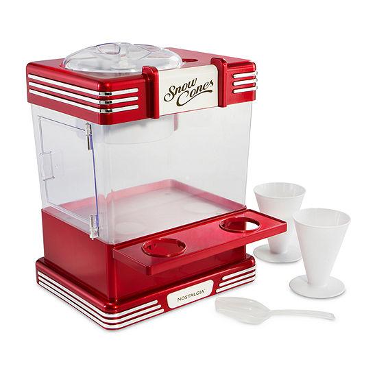 Nostalgia™ RSM602 Retro Series Snow Cone Maker & Shaved Ice Storage