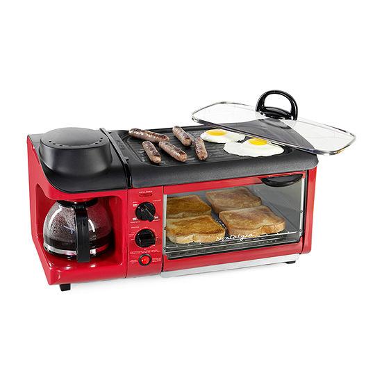 Nostalgia™ BST3RR Breakfast Station