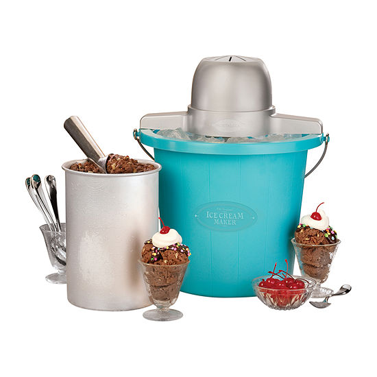 Nostalgia™ PICM4BG 4 Qt. Electric Ice Cream Maker