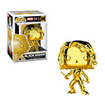 Funko Pop! Marvel Studios 10 Gold Chrome Collectors Set 3 - Black Widow Black Panther Captain America