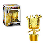 Funko Pop! Marvel Studios 10 Gold Chrome Collectors Set 3 - Groot Hulk Thor Gamora