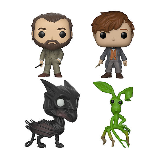 Funko Pop! Movies Fantastic Beasts 2 Collectors Set - Dumbledore Newt W/Chase Thestral Picket
