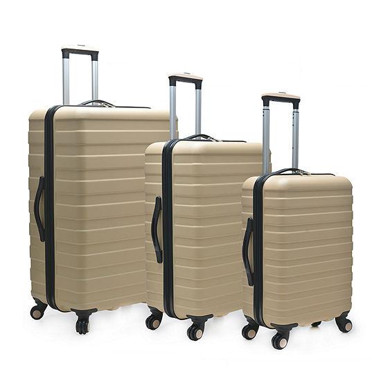Travelers Choice Cypress 3- pc. Hardside Luggage Set