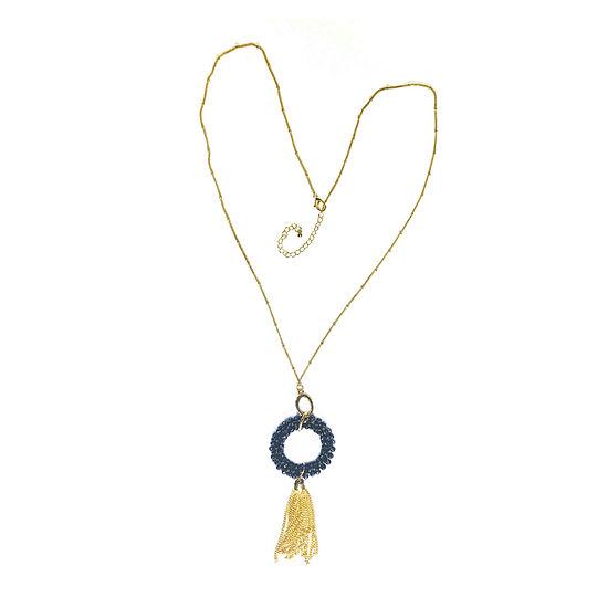 Bijoux Bar Beaded Link Y Necklace