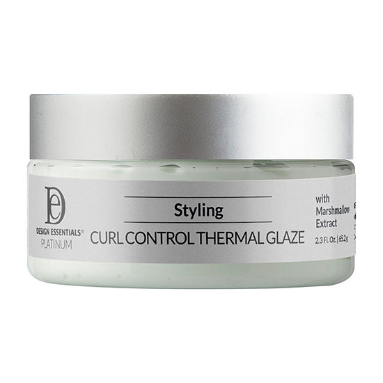Design Essentials Platinum Curl Control Thermal Glaze Styling Product - 2.3 oz.