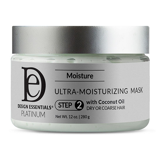 Design Essentials Platinum Ultra Moisturizing Hair Mask-12 oz.