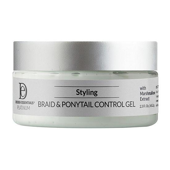 Design Essentials Platinum Braid/Ponytail Control Glaze Styling Product - 2.3 oz.