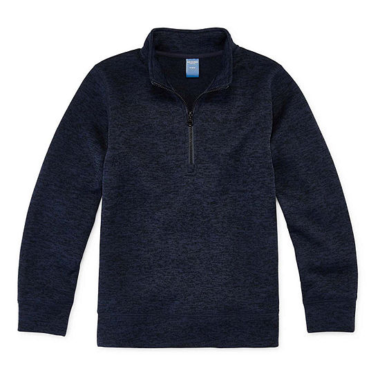 Arizona Little & Big Boys Long Sleeve Pullover Sweater