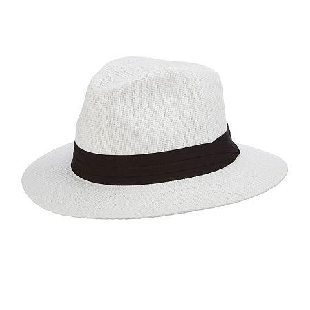 Men's Vintage Style Hats, Retro Hats Panama Jack Mens Safari Hat Large-x-large  White $16.49 AT vintagedancer.com