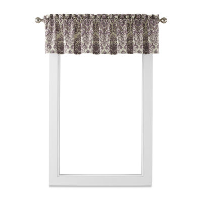 Home Expressions Hayden Rod-Pocket Tailored Valance