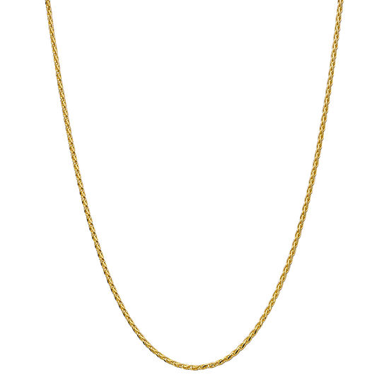 Made in Italy Womens 24K Gold Over Silver Y Necklace