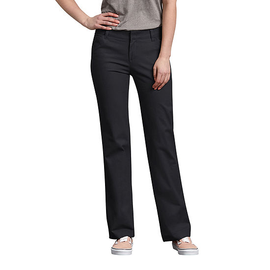Dickies® Women's Relaxed Straight Stretch Twill Pants